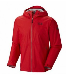 MOUNTAIN HARDWEAR PLASMIC JKT RED