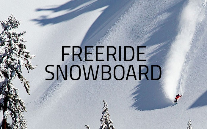 Snowboard Freeride SHOPONLINE